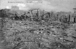 Ruines De Jamioulx - Endroit De L'explosion (Edit. Jacquart, Explosion D'un Train De Munitions En Gare 1918...) - Ham-sur-Heure-Nalinnes