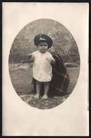C6935 - Kleines Hübsches Mädchen Mit Hut Mütze - Vintage - Pretty Young Girl Mode - Fotografie