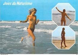 Joies Joie Du NATURISME  Océan Atlantique (nu Nue Seins  Nus Nude Nudisme ) D'après  Photo CIM*PRIX FIXE - Illustrateurs & Photographes