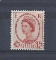 """GB..QUEEN ELIZABETH II.(1952-NOW)..."""" WILDINGS..""""..4 AND HALFd....SG577......MNH.. - 1952-.... (Elizabeth II)"""