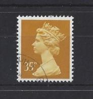 "GB..QUEEN ELIZABETH II.(1952-NOW)..."" MACHINS ""...35p......SGX989......USED. - 1952-.... (Elizabeth II)"
