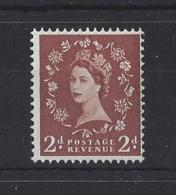 "GB...QUEEN ELIZABETH II.(1952-NOW)."" WILDINGS "".... 2d....SG573...MNH. - 1952-.... (Elizabeth II)"