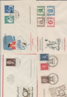 DDR . 4 Alte FDC , Mehr Als 100 Euro Michel - Covers & Documents