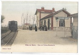 VILLIERS SUR MORIN - MONTBARBIN - La Gare - Train - Frankreich