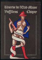Etiquette De Vin // Réserve De L'Etat-Major Vufflens-Chigny - Pompiers