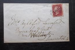 Great Britain: 1858 Cover To Wellington (#YR7) - 1840-1901 (Victoria)