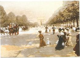 Promeneur Sur L'avenue Du Bois De Boulogne - Mary Evans Picture Library - Parks, Gardens