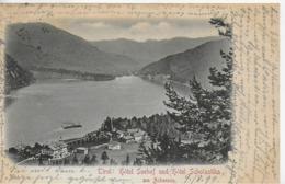 AK 0295  Achensee - Hotel Seehof Und Hotel Scholastika - Verlag Harth Um 1899 - Achenseeorte