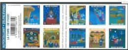 Boekje 121 De Foor - Carnet 121** La Foire 4115/24** - Booklets 1953-....