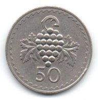 Cipro Kibris 50 Cents01974 - Zypern