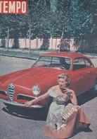 (pagine-pages)la GIULIETTA Dell' ALFA ROMEO  Tempo1954/18. - Other