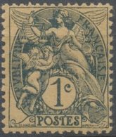 Type Blanc. 1c. Ardoise GC (IB) Y107e - France