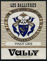 Etiquette De Vin // Vully, Pinot Gris, Les Dallières - Etiquettes