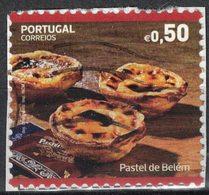 Portugal 2017 Oblitéré Used Dessert Pastel De Belém Pastel De Nata SU - 1910-... République
