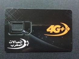 CARTE GSM/SIM MAROC TELECOM  Squelette 4G+ - Maroc