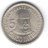 Peru 5 Intis 1987 - Perú