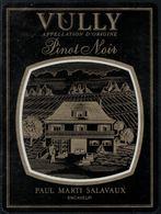 Etiquette De Vin // Vully , Pinot Noir, Paul Marti Salavaux - Etiquettes