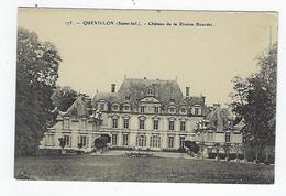 CPA 76 Environs De Rouen - Quevillon Château De La Rivière Bourdet - Rouen