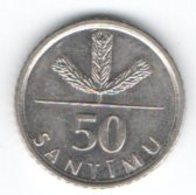 Lettonia Latvia 50 Santimi 2009 - Lettland