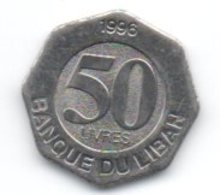 Libano 50 Livres 1996 - Libanon