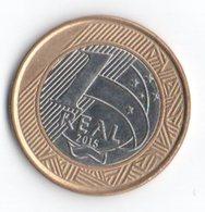 Brasile 1 Real 2015 50° Banco Central - Brasile