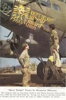Décoration D'un Bombardier  Document Original Américain De 1948 - Aviation