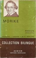 Aubier/Montaigne Bilingue - Poésies De Mörike (BE+) - Autres