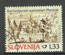 Slovenië, Yv 880 Jaar 2014, Hoge Waarde, Gestempeld - Slovénie