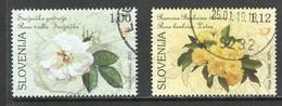 Slovenië, Yv 1045 -46 Jaar 2017, Hogere Waarden,  Gestempeld - Slovénie