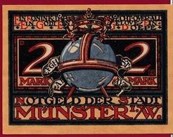 Allemagne 1 Notgeld 2 Mark Stadt Münster Dans L 'état Lot N °4462 - Collections