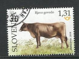 Slovenië, Yv  1106 Jaar 2018,   Hoge Waarde, Gestempeld - Slovénie