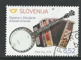 Slovenië, Yv  Jaar 2018,   Hoge Waarde, Gestempeld - Slovénie
