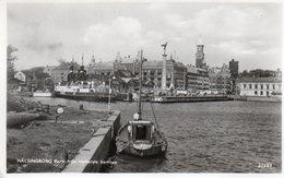 HELSINGBORG-PARTI FRAN MELLERSTA HAMMEN- VIAGGIATA 1953-REAL PHOTO - Svezia