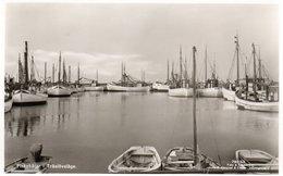 HELSINGBORG-FISKEBATAR I TRASLOVSLAGE-NON  VIAGGIATA -REAL PHOTO - Svezia
