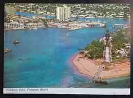 Hillsboro Inlet. At POMPANO BEACH, Florida - Lighthouse - Vg - Stati Uniti