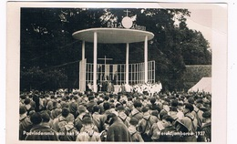SCOUT-38   WORLD-JAMBOREE 1937 - Padvinders Gaan Naar Het Hoofdaltaar - Scoutisme