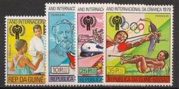 Guinée-Bissau - 1979 - N°Mi. 529 à 532 - Année De L'enfant - Neuf Luxe ** / MNH / Postfrisch - Guinée-Bissau