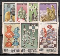 Guinée-Bissau - 1983 - N°Mi. 674 à 681 - Echecs - Neuf Luxe ** / MNH / Postfrisch - Guinea-Bissau