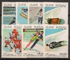 Guinée-Bissau - 1983 - N°Mi. 709 à 715 - Sarajevo / Olympics - Neuf Luxe ** / MNH / Postfrisch - Guinea-Bissau