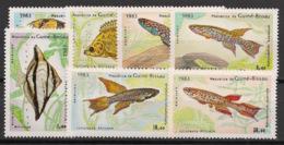 Guinée-Bissau - 1983 - N°Mi. 731 à 737 - Faune / Poissons - Neuf Luxe ** / MNH / Postfrisch - Guinea-Bissau