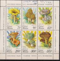 Guinée-Bissau - 1985 - N°Mi. 846 à 851 - Champignons - Neuf Luxe ** / MNH / Postfrisch - Champignons