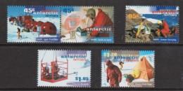 Australian Antarctic 1997 ANARE Anniversary Set Of 5 MNH - Unused Stamps