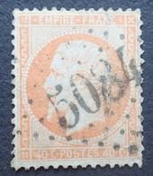 R1615/578 - NAPOLEON III N°23 (pliure) - GC 5084 : LES DARDANELLES (TURQUIE) ☛☛☛ INDICE 17 - 1862 Napoléon III