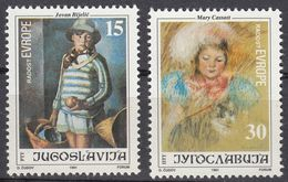 JUGOSLAVIJA - 1991 - Serie Completa Nuova MNH Formata Da 2 Valori: Yvert 2370/2371. - Nuovi