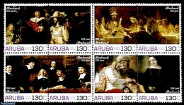 Aruba 2019 Rembrandt 8v [+++], (Mint NH), Paintings - Rembrandt - Timbres