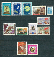 USSR, 1960; Lot Of 12 Unused ** / (*) Stamps MiNr 2326 A, 2336-37, 2342, 2362, 2378, 2380-81, 2388-89, 2404, 2406 - 1923-1991 URSS