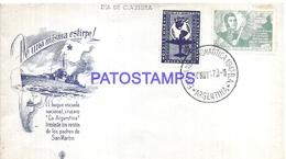 117506 ARGENTINA COVER SHIP BUQUE ESCUELA LA ARGENTINA YEAR 1947 NO POSTCARD - Argentina