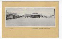ARGENTINE - ALEXANDRIE - Station De Ramleh - Animée (P108) - Alexandrie