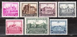 308/14*  Les Châteaux - Série Complète - MH* - LOOK!!!! - Unused Stamps