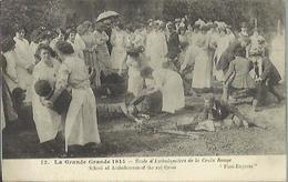 8709 CPA Ecole D'Ambulanciers De La Croix Rouge 1914 1918 - Cachet De La Poste 5 Avril 1905 - War 1914-18